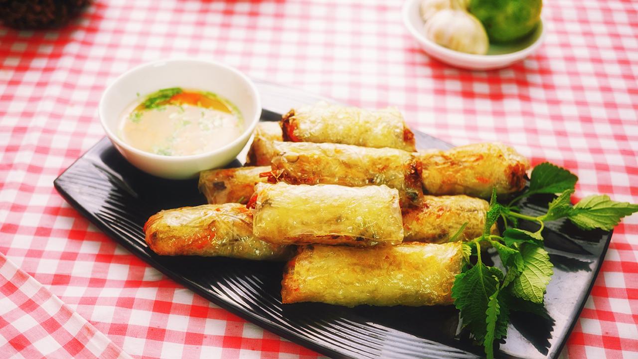 Vegetarian Spring Roll