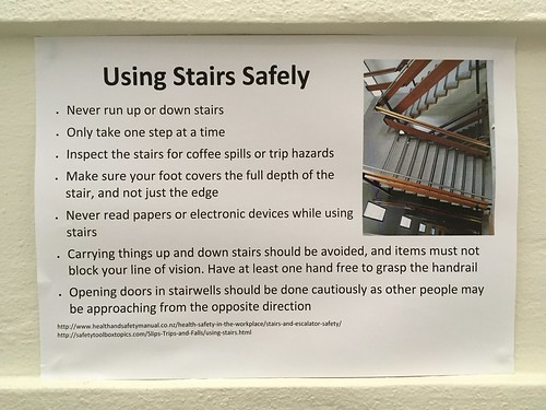 How to use stairs