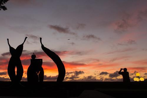 newzealand wellington sunrise dawn photographer sculpture