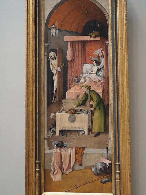 土, 2017-06-24 14:45 - Death and the Miser (1485-1490) by Hieronymus Bosch