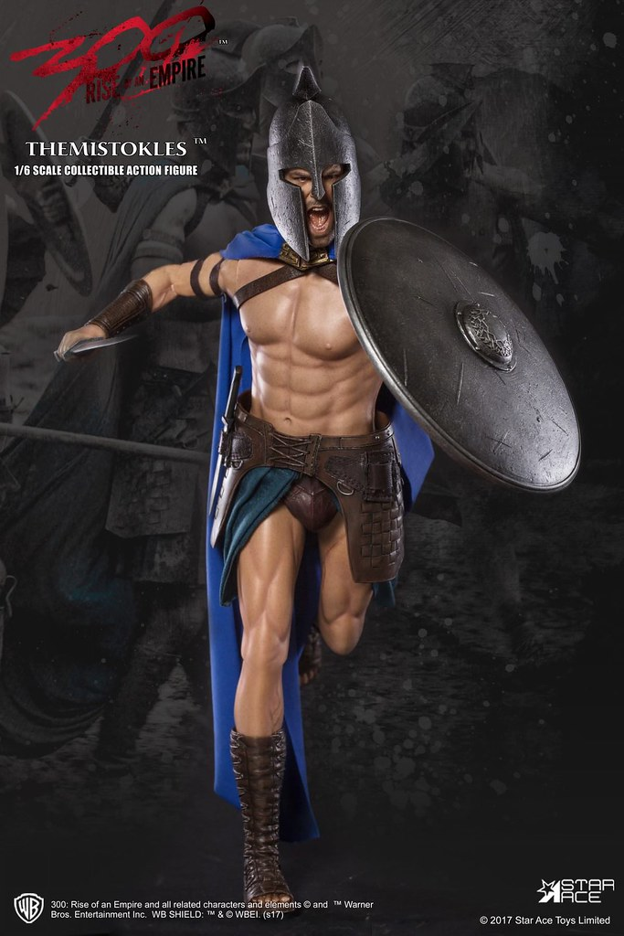 Star Ace Toys 300 壯士:帝國崛起【特米斯托克力】300: Rise of an Empire General Themistokles 1/6 比例人偶作品