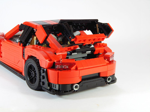 close rear open
