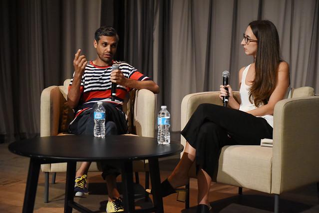 Haroon Mirza & Diana Nawi Speaking