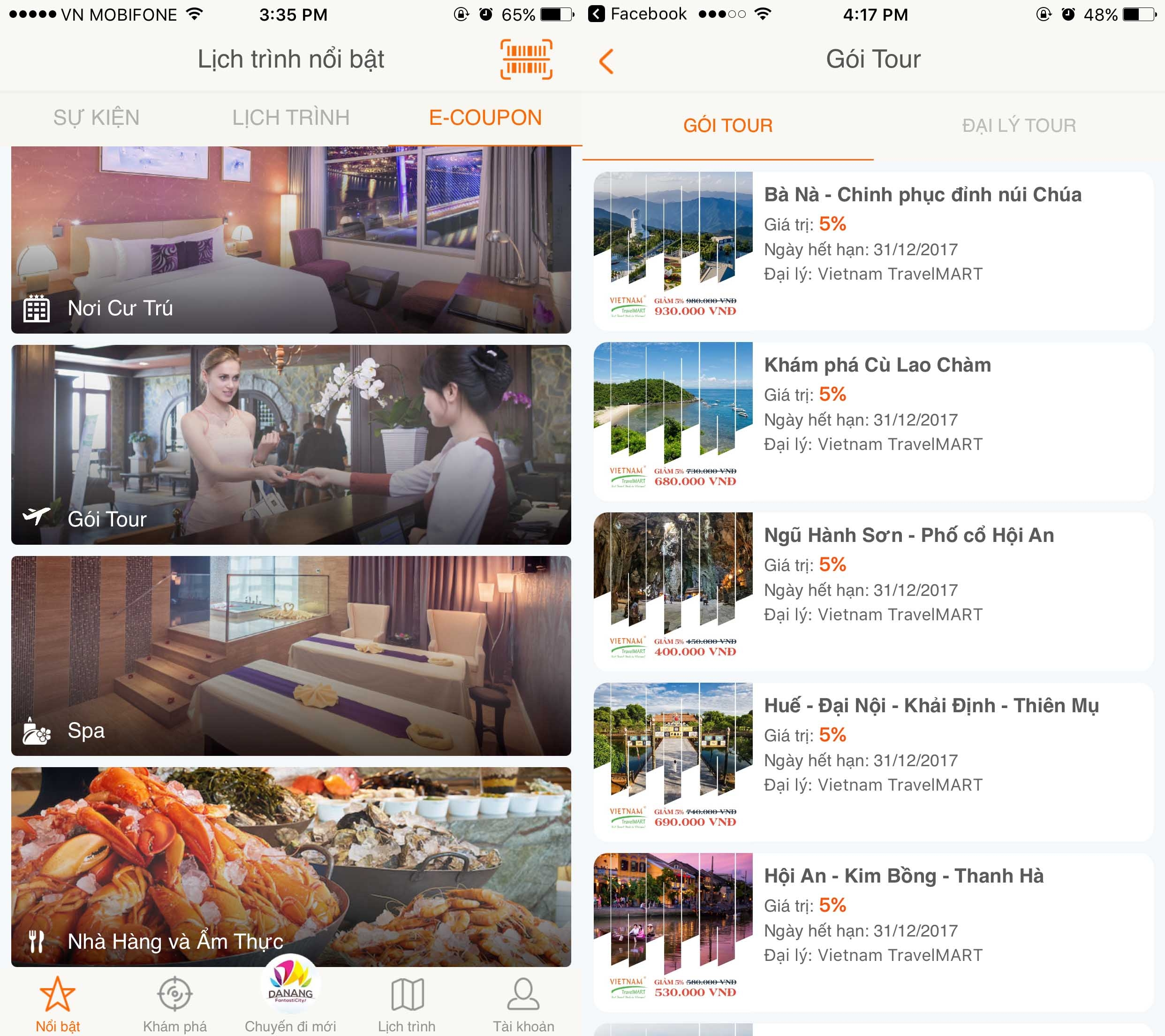 "New version of Danang tourist app released – Danang FantastiCity Ver 2.0 ""Check out Da Nang on your mobile devices!""1"