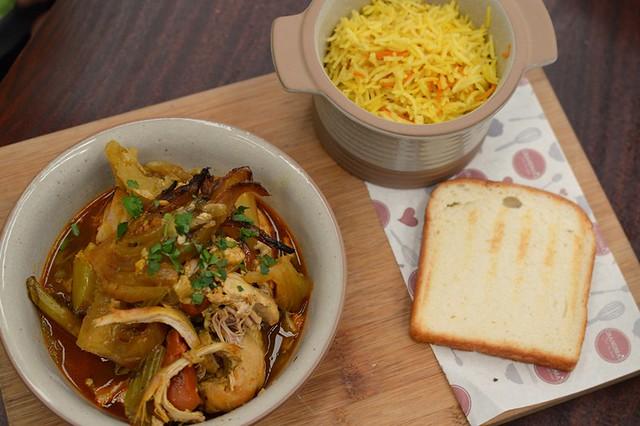 Traditional Chicken & Vegetables Casserole