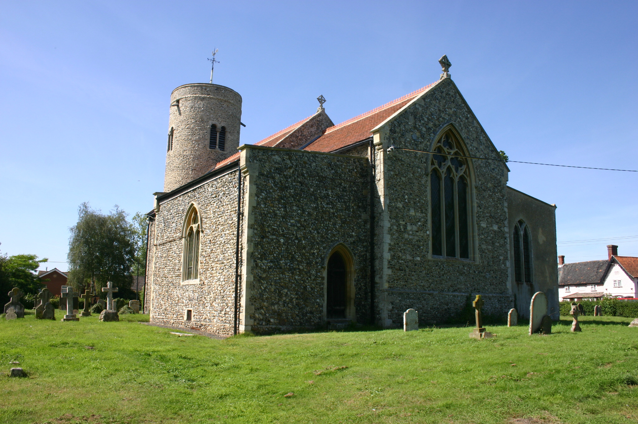 Norfolk, GISSING, St Mary (Gary Southwell)