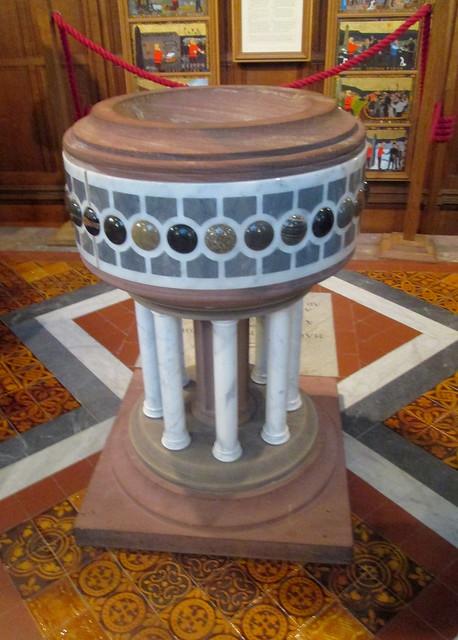 St Magnus Cathedral Font