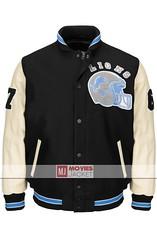 Beverly Hills Cop Detroit Lions Varsity Jacket