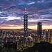 Night view of Taipei
