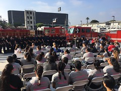 LAFD Holds Girls Camp in West Los Angeles