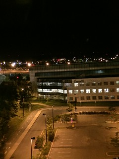 Montreal airport hotel view