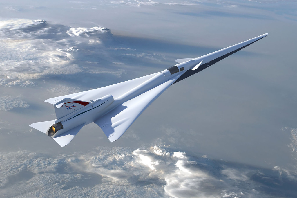 Quiet Supersonic Technology X-Plane Concept