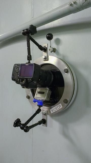 Cameras on the side porthole