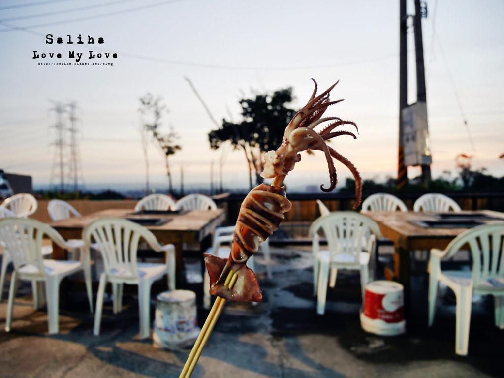 台中沙鹿區夜景餐廳推薦蠔膽你來生蠔海鮮活魚燒烤吃到飽