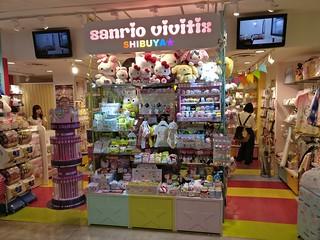 Sanrio Vivitix  Store in Shibuya 109