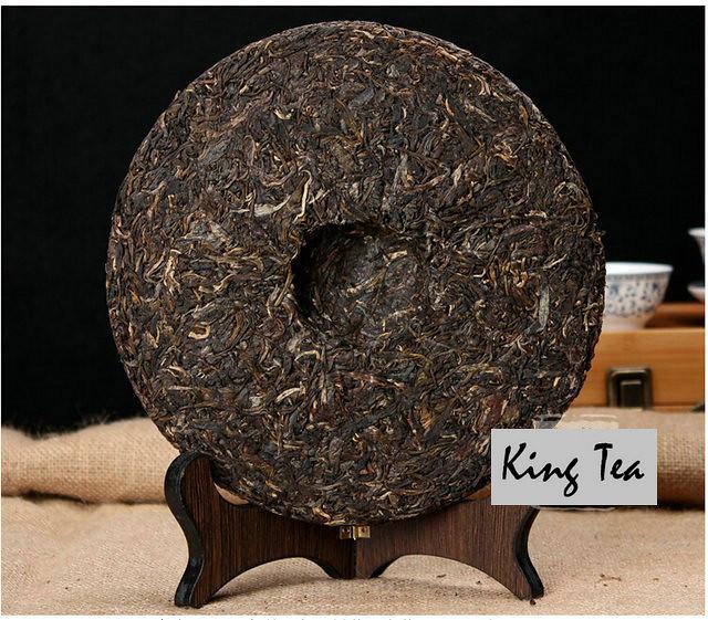 Free Shipping 2006 ShuangJiang MENGKU Mom tree's leaf Cake 500g China YunNan MengHai Chinese Puer Puerh Raw Tea Sheng Cha
