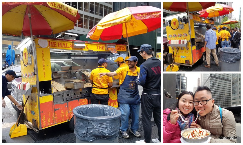 The Halal Guys food truck in New York