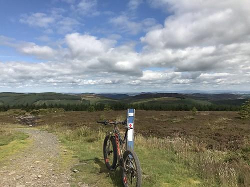 Minch Moor Summit, Innerleithen Forest Trails