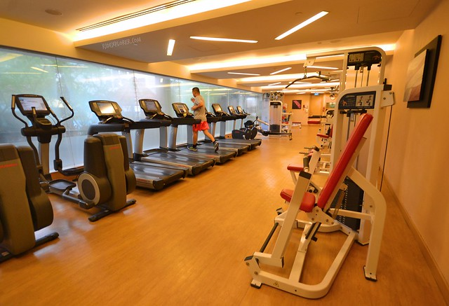 hotel jen tanglin singapore fitness center