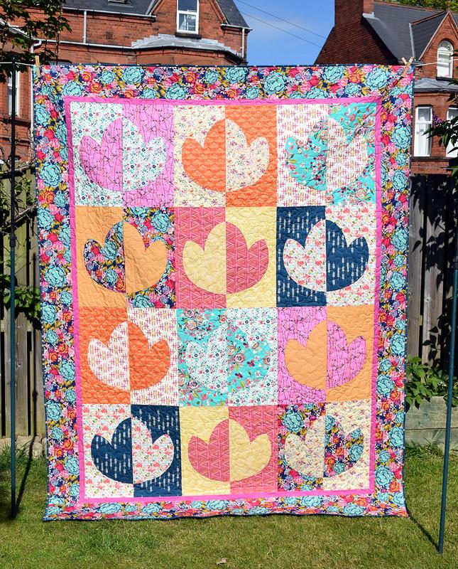 Boho Lotus Flower Quilt (Popular Patchwork Magazine August 17)