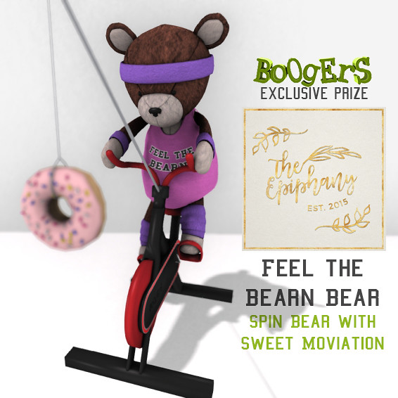BOOGERS Epiphany Exclusive Feel the Bearn Bear