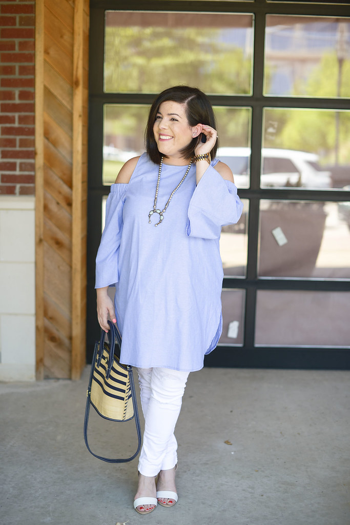 Maternity Cold Shoulder Top-@headtotoechic-Head to Toe Chic