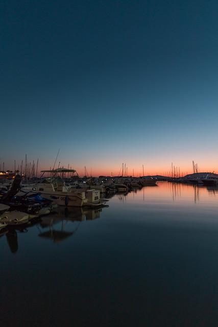 Blue Sunset On Sea, Alghero