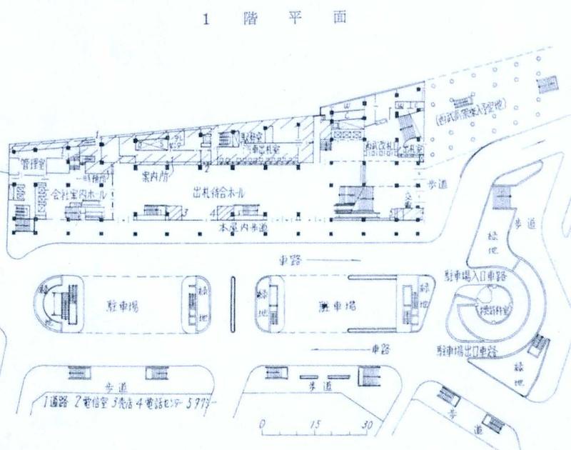 西武鉄道新宿駅 ルミネ(マイシティ)乗り入れ計画図面 (8)