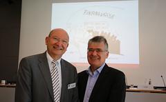 Unser Tagungsleiter Dr. Wolfgang Quaisser und Prof. Dr. Markus Taube (Universit�t Duisburg-Essen)