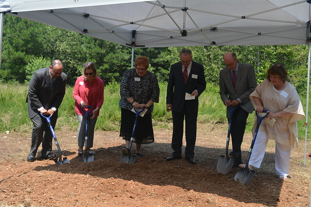 Ground Breaking- New Conference Office- July 22, 2017