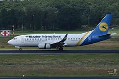Ukraine International Airlines UR-GBA Boeing 737-300, TXL