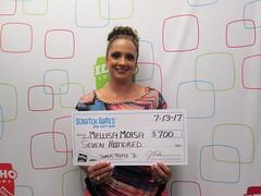 Melissa Moisa - $700 - Super Triple 7s - Buhl - Ridley's