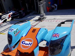 The Front End of Tockwith Motorsports' Ligier JS P217 Gibson