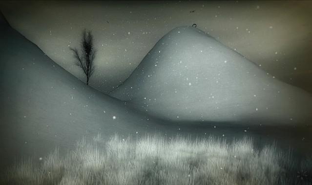 l'arbre sous la neige