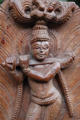 Krishna Carving
