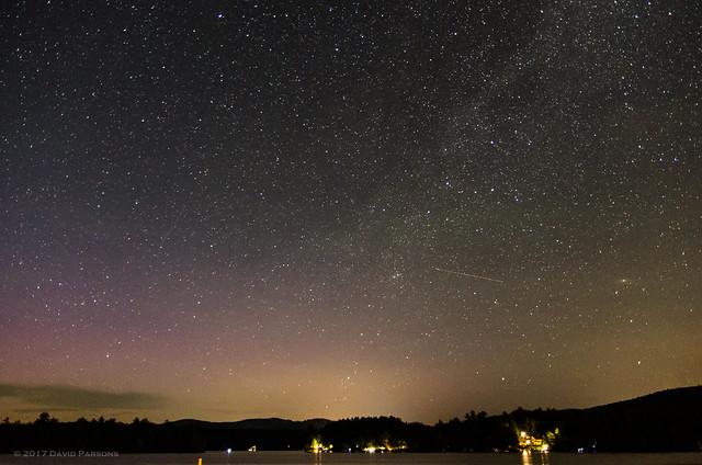 Milky Way and Aurora, Pentax K-5, Sigma 17-50mm F2.8 EX DC HSM