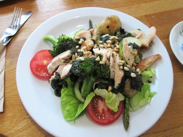 Devon Guild Chicken and Asparagus Salad  £8.95