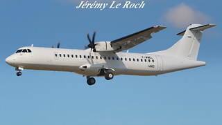 ATR 72-600 F-WWEL MSN1440 A L'AEROPORT TOULOUSE-BLAGNAC LE 11 07 17
