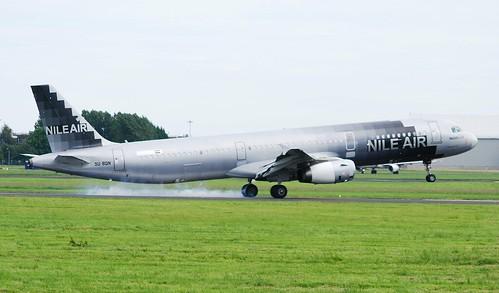 SU-BQN A321 Nile Air