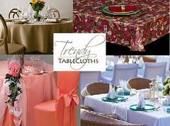 Buy Trendy Liner Tablecloths under Reasonable Price