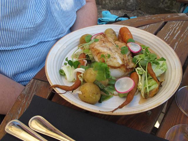 saturday, dinner at hus 13, day trip to varberg, varberg