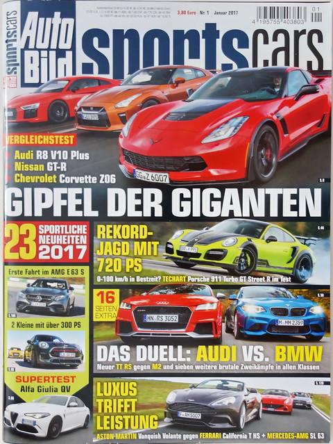 Auto Bild Sportscars 1/2017
