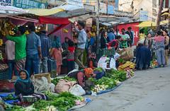 Rural market in Leh Town, Northern India