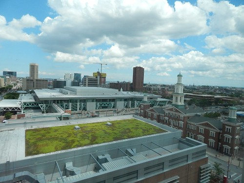 Baltimore Convention Center green roof