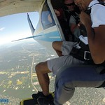 View of Long Island while Skydiving