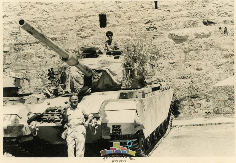 Centurion-20pdr-jordanian-captured-beit-lehem-19770612-ybz-1