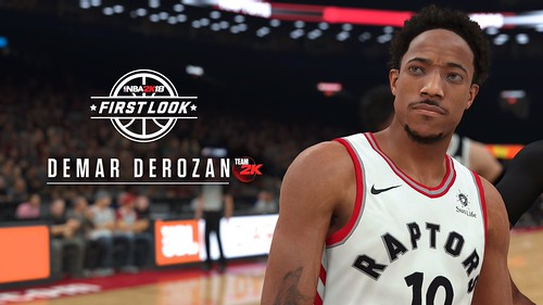 54232b46c4f 2K Sports has released the first screenshots and player ratings for NBA  2K18. Three new screenshots showcase Canadian cover athlete DeMar DeRozan  ...