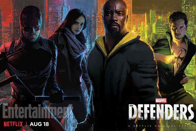 The Defenders SDCC2017 Poster