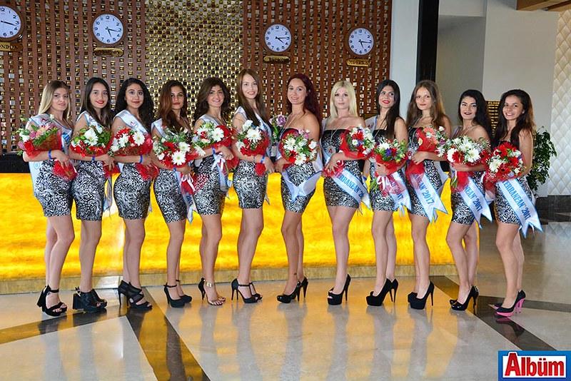 Miss Mediterranean 2017 Finalistleri Side'de -9