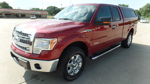 2014 Ford F150 EXT Cab 4x4